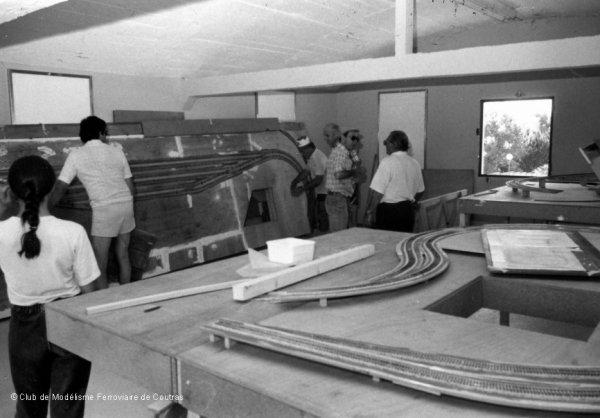 Déménagement du club en juillet 1987