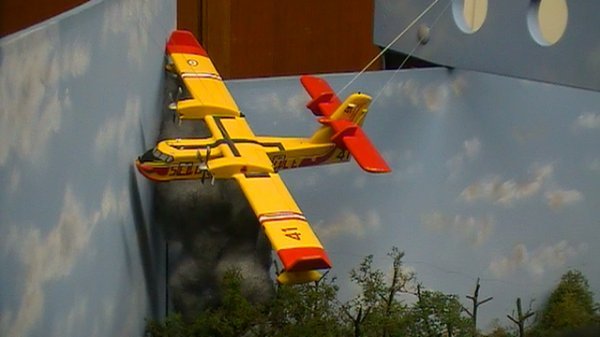 Canadair et CCF construits par Sébastien