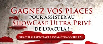 Gagnez vos places pour le SHOWCASE ULTRA PRIVE de Dracula !