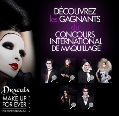 Concours de maquillage : LES GAGNANTS !