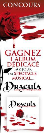 Concours DRACULA | GAGNEZ 1 ALBUM dédicacé par jour !