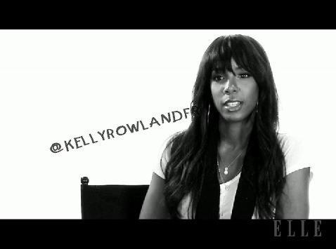 Kelly Rowland interviewé par le magazine ELLE