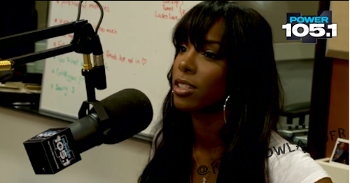 "Kelly Rowland interviewé par la Radio ""Power 105's"""