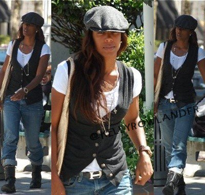 Kelly Rowland a Beverly Hills