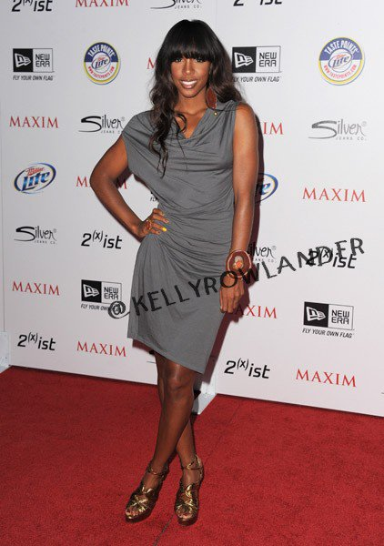 "Kelly Rowland à la ""Maxim Hot 100 Party"""