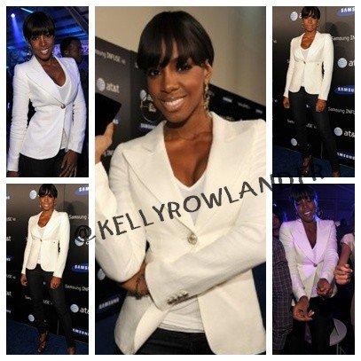 Kelly Rowland a Samsung