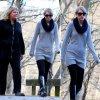 Ce week-end Taylor a ete photographiee dans un parc de Nashvielle avec sa mère