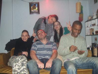 laétitia, sandra, cédric, steven et moi