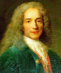 VOLTAIRE 1694-1778  CITATIONS & A MADAME DU CHATELET