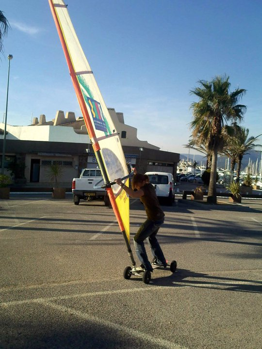 me en dirt windsurf