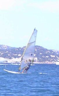 moi et mes potes = windsurfeurs
