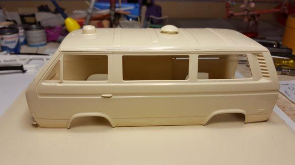 VW T3 ambulance Revell par Patrick suite