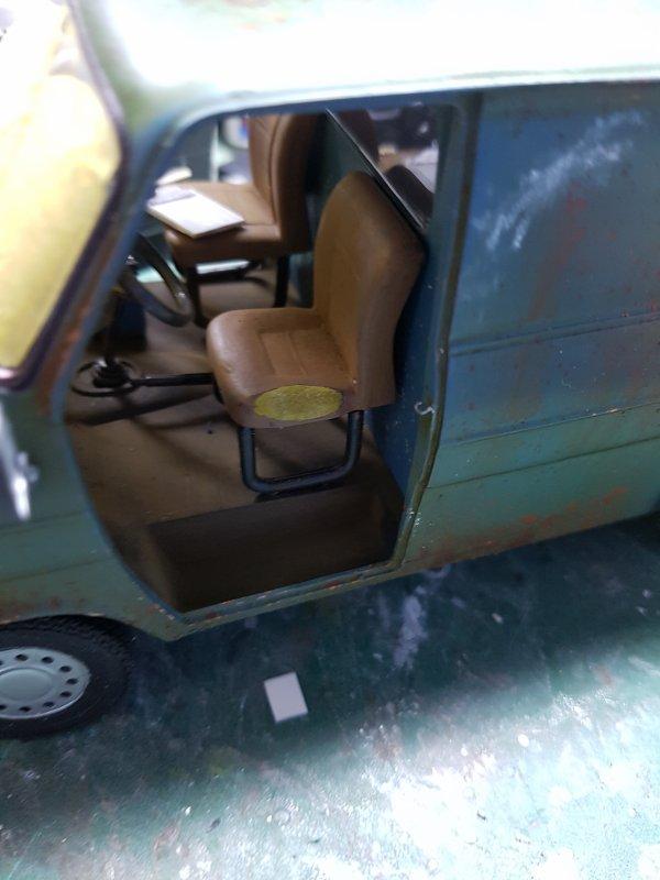 Ford Transit 1/24 Italeri Par Damien suite