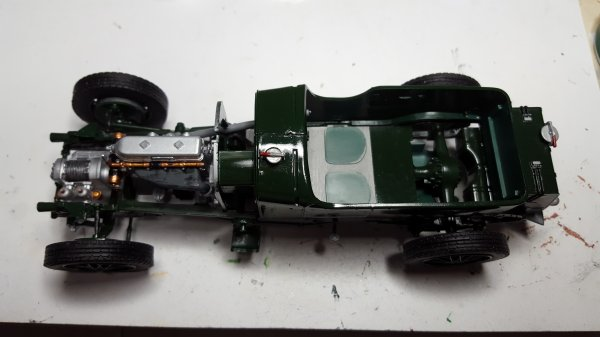 Bentley 1/24 par Patrick suite
