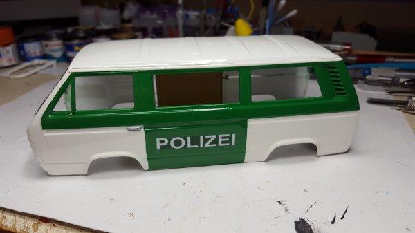 VW T3 polizei de Patrick