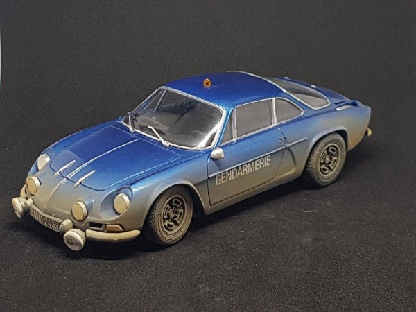 alpine a 110 de gendarmerie tamiya 1 24 anjou maquette49. Black Bedroom Furniture Sets. Home Design Ideas