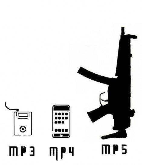 Maman je peux acheter une MP5