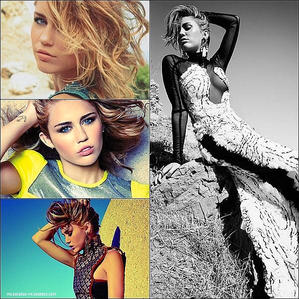Notre belle Miley pose pour Marie-Claire. Ce photoshoot date de 2012. TOP ou FLOP? Donne ton avis!