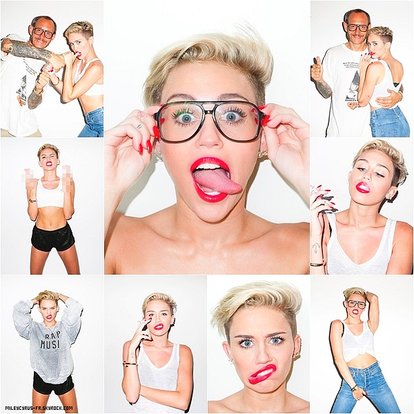 Un photoshoot de miley récent. TOP ou FLOP? Donne ton avis!