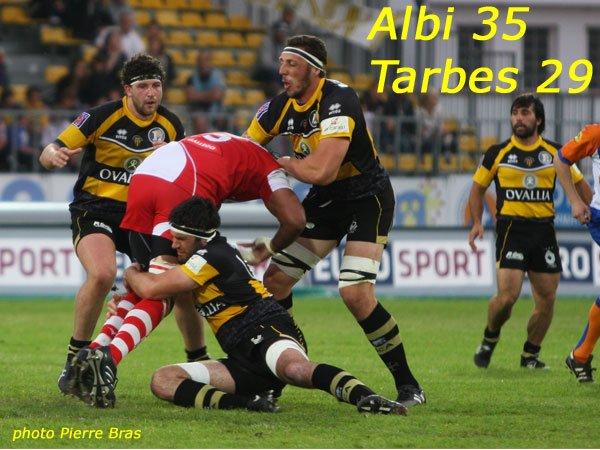 ALBI 35 - 29 TARBES