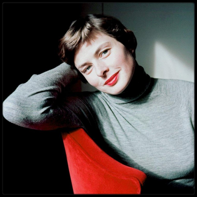 Ingrid BERGMAN by David SEYMOUR