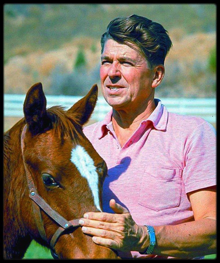 (1965) Ronald REAGAN by Bill RAY