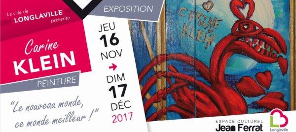 CARINE KLEIN EXPOSITION LE NOUVEAU MONDE CE MONDE MEILLEUR !