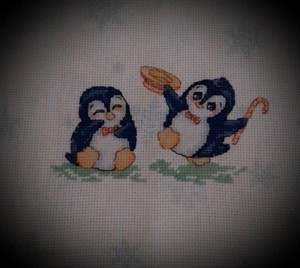 Il faut que je fasse la finition de ces deux pingoins de mary poppins