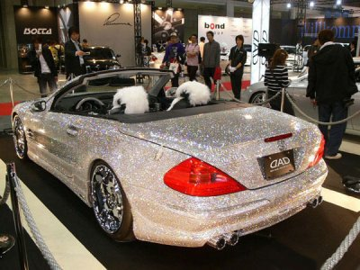 Mercedes SL en diamant
