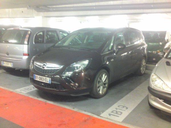 Exclu Sky: Le nouvel Opel Zafira Tourer !!