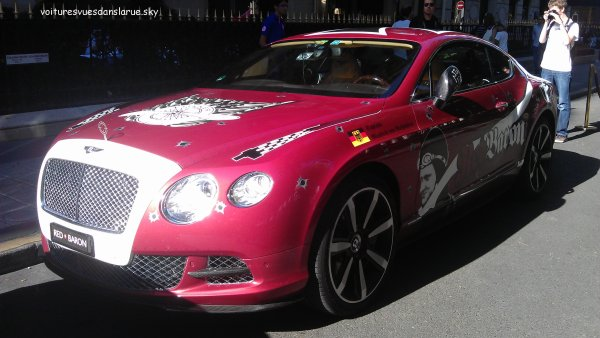 "Bentley Continental GT V8 2012 ""Red Baron"""