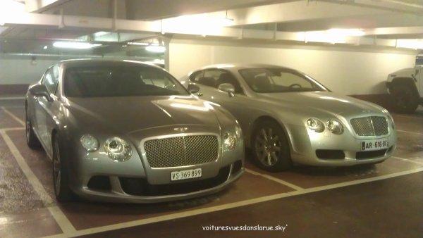 Bentley Continental GT 2012 + Bentley Continental GT