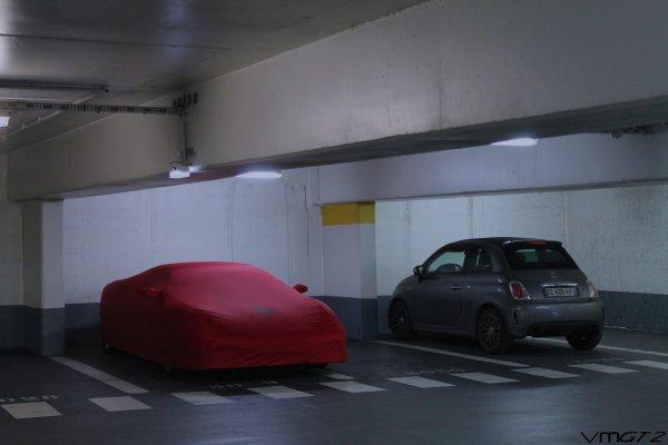 Ferrari 430 Scuderia + Abarth 500C