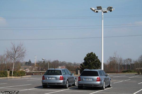 Audi RS4 Avant B6 x2