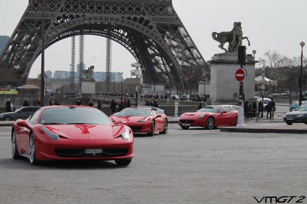 Ferrari 458 Italia - Ferrari 458 Spider - Ferrari California