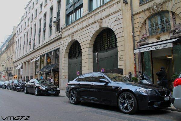 Maserati Quattroporte - BMW M5 F10
