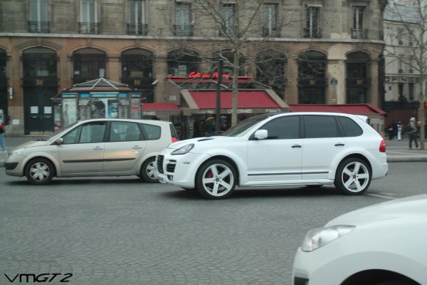 Porsche Cayenne Turbo S (Typ 957) TechArt Bodykit