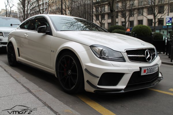 Mercedes-Benz Classe C63 AMG Coupé Black Series