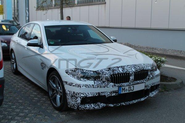 SPYSHOT: BMW M550D Facelift