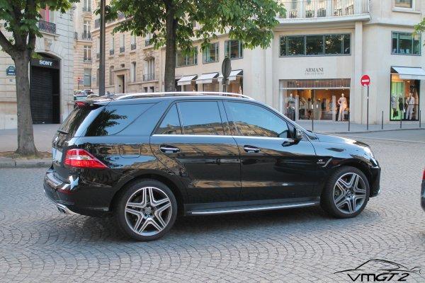 Mercedes-Benz ML63 AMG W166