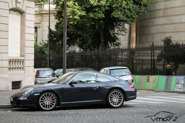 Porsche 911 (Typ 997 MKI) Targa 4S