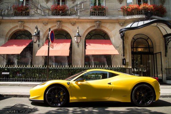 Ferrari 458-V by Vorsteiner