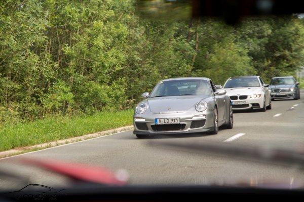 Nissan GT-R R35 - Porsche 911 (Typ 997 MKI) GT3 - BMW M3 E92 - Mercedes-Benz C63 AMG Sedan W204