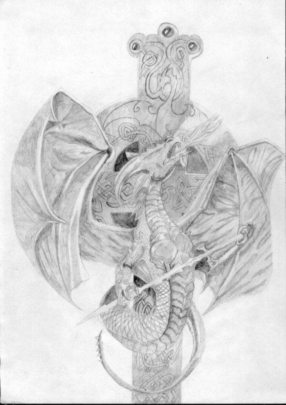 dragon celte