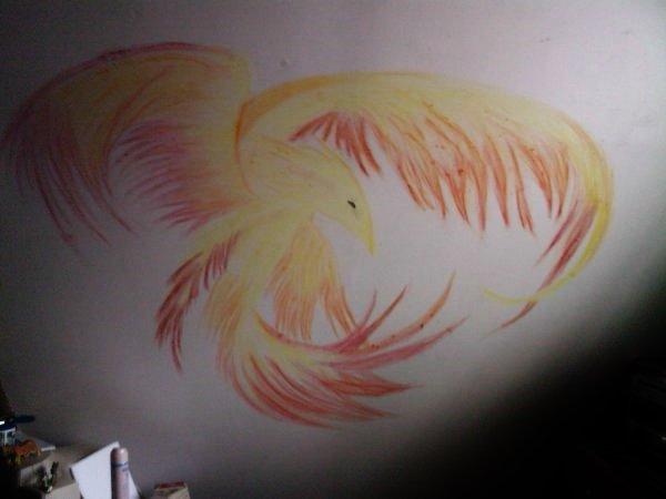 le mur de mon ancienne chambre