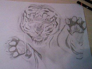 un tigre, mais bon, ça se voit non? ^^
