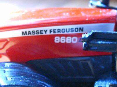 massey ferguson 8680 + benne JOSKIN 3essieux