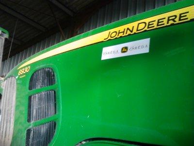 john deere 6930 a roue jumeler