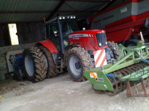 Massey ferguson 6480 au semis