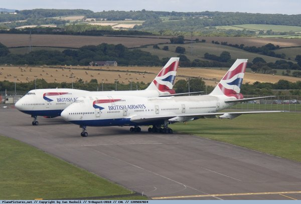 British Airways Boeing747
